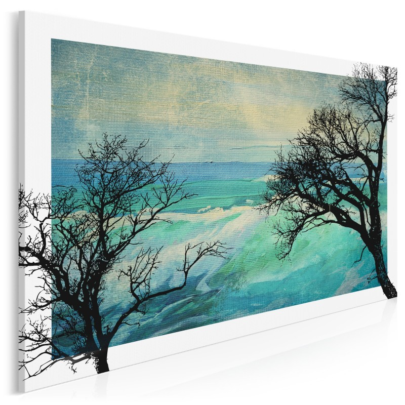 Konary nostalgii - nowoczesny obraz na płótnie - 120x80 cm