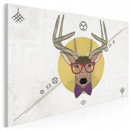 Mr Deer - nowoczesny obraz na płótnie
