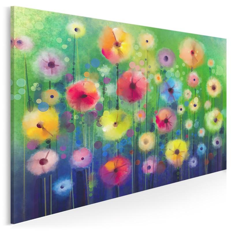 W bajecznym ogrodzie - nowoczesny obraz na płótnie - 120x80 cm