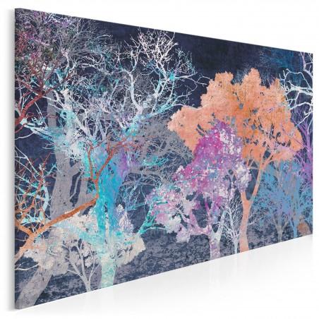 Energia życia - nowoczesny obraz do salonu - 120x80 cm