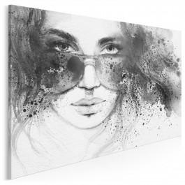 Me Myself and I - nowoczesny obraz na płótnie - 120x80 cm