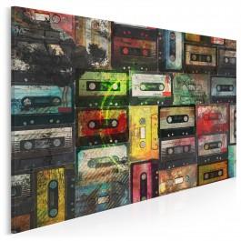 Wspomnienie analogowej jakości - nowoczesny obraz na płótnie - 120x80 cm