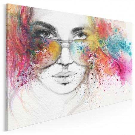Superego - nowoczesny obraz na płótnie - 120x80 cm