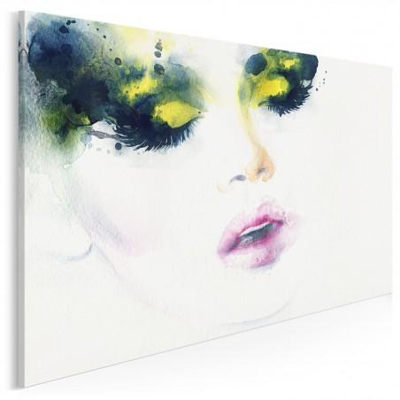 Tajemnicza nieznajoma - nowoczesny obraz na płótnie - 120x80 cm