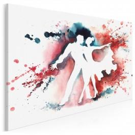W rytmie flamenco - nowoczesny obraz na płótnie - 120x80 cm