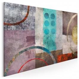 Dzisiaj jutro zawsze - nowoczesny obraz na płótnie - 120x80 cm