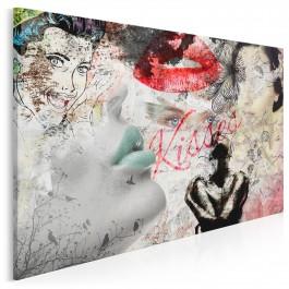 Oblicza kobiecości - nowoczesny obraz na płótnie - 120x80 cm