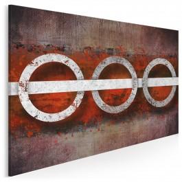 Preludium nieskończoności - nowoczesny obraz na płótnie - 120x80 cm
