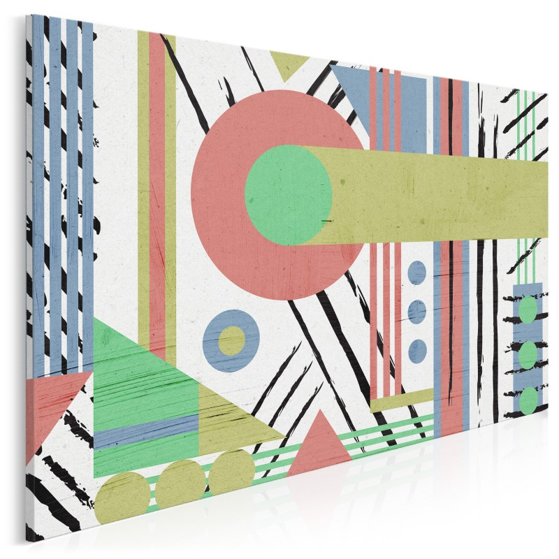 Perpetuum mobile - nowoczesny obraz na płótnie - 120x80 cm