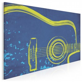 ...I gitara - nowoczesny obraz na płótnie