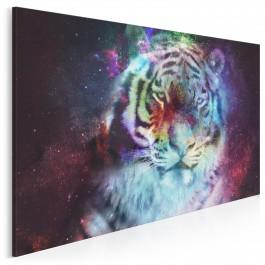 Dziki futuryzm - nowoczesny obraz na płótnie - 120x80 cm