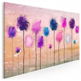 Akompaniament życzeń - nowoczesny obraz na płótnie - 120x80 cm