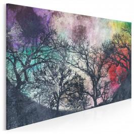 Magiczna pełnia - nowoczesny obraz do sypialni - 120x80 cm
