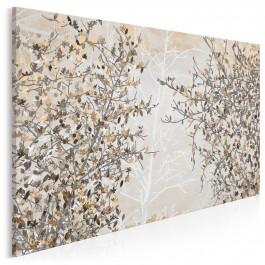 Jesienne liście - nowoczesny obraz na płótnie - 120x80 cm