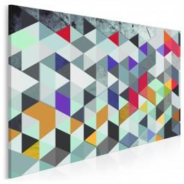 Sprzeczności i kontrasty - nowoczesny obraz na płótnie - 120x80 cm
