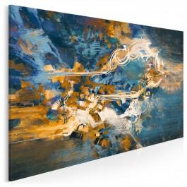 Półwysep nadziei - nowoczesny obraz na płótnie - 120x80 cm