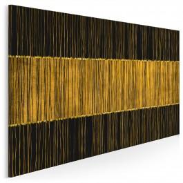 Złote runo - nowoczesny obraz do salonu- 120x80 cm