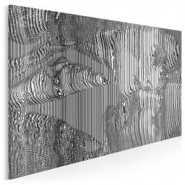 Sztuka uwodzenia - nowoczesny obraz na płótnie - 120x80 cm