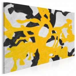 Dysonans - nowoczesny obraz na płótnie - 120x80 cm