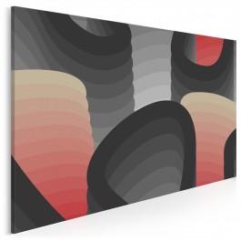 Enklawa zmysłów - nowoczesny obraz na płótnie - 120x80 cm