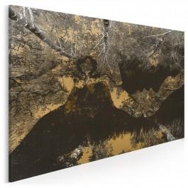Natura miłości - nowoczesny obraz na płótnie - 120x80 cm