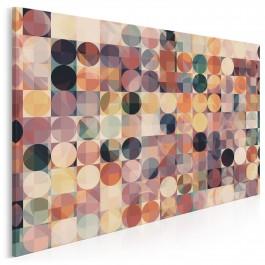 Stylowy grunge - nowoczesny obraz na płótnie - 120x80 cm