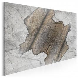 Drugie dno - nowoczesny obraz do salonu - 120x80 cm