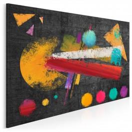 Platforma wspomnień - nowoczesny obraz na płótnie - 120x80 cm
