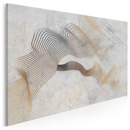 Nić Ariadny - nowoczesny obraz na płótnie - 120x80 cm