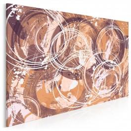 Ogień pytań - nowoczesny obraz na płótnie - 120x80 cm