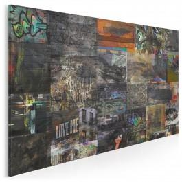 Miejska galeria - nowoczesny obraz na płótnie - 120x80 cm
