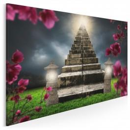 Sacrum - nowoczesny obraz na płótnie - 120x80 cm