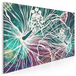 Kwiat nieśmiertelności - nowoczesny obraz na płótnie - 120x80 cm
