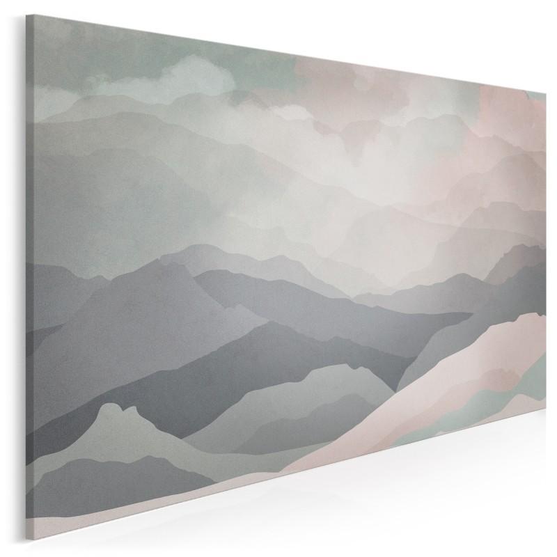 Wzgórza nadziei - nowoczesny obraz na płótnie