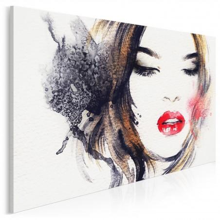 Gra zmysłów - nowoczesny obraz na płótnie - 120x80 cm