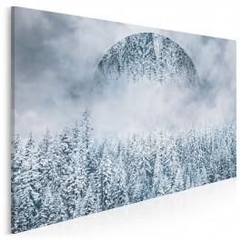 Kraina wiecznej zimy - nowoczesny obraz na płótnie - 120x80 cm