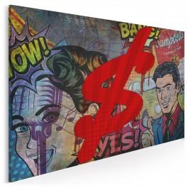 Amerykański sen - nowoczesny obraz na płótnie - 120x80 cm