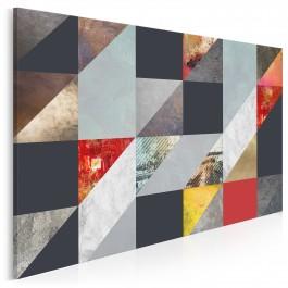 Niedopowiedzenia - nowoczesny obraz na płótnie - 120x80 cm