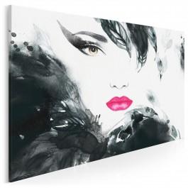 Urok Femme Fatale - nowoczesny obraz na płótnie - 120x80 cm