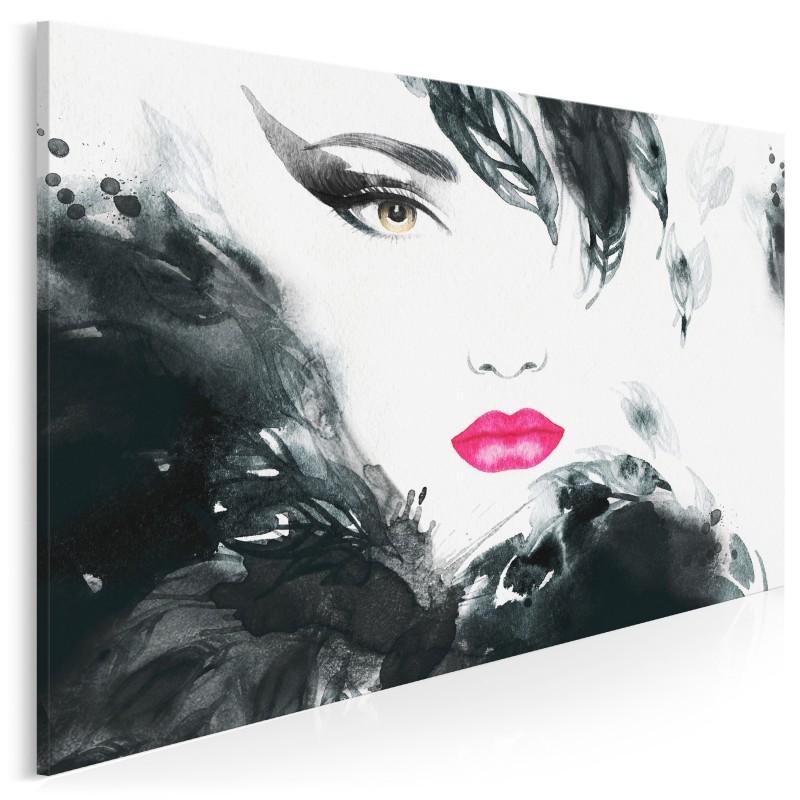 Urok Femme Fatale - nowoczesny obraz na płótnie