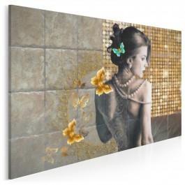 Gorączka sobotniej nocy - nowoczesny obraz na płótnie - 120x80 cm
