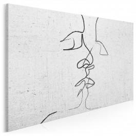 Pętla egzystencji - nowoczesny obraz na płótnie - 120x80 cm