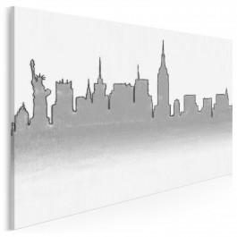 Nowojorski szkicownik - nowoczesny obraz na płótnie