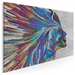 Anastasis - nowoczesny obraz do sypialni - 120x80 cm
