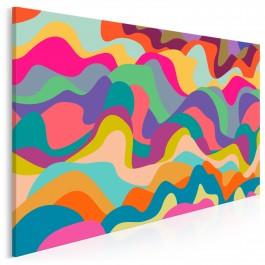 Owocowe Flagrate - nowoczesny obraz na płótnie - 120x80 cm