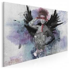 Skrzydlata animozja - nowoczesny obraz na płótnie - 120x80 cm