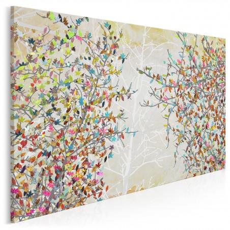 Przebudzenie wiosny - nowoczesny obraz na płótnie - 120x80 cm