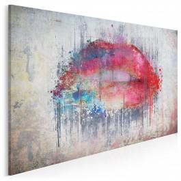 Smak słów - nowoczesny obraz na płótnie - 120x80 cm