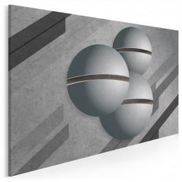 Głos przestrzeni - nowoczesny obraz na płótnie