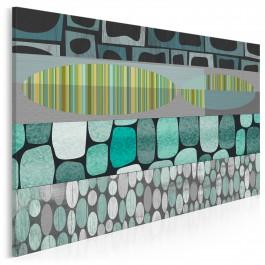 Iskra nadziei - nowoczesny obraz na płótnie - 120x80 cm